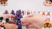 机器人玩具救援组合合体玩具超级海盗变形金刚VS超级警察变形合体玩具_玩具