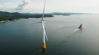 海上风力发电装置,牢固结实又可靠,你的担心全没有