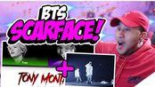 【reaction】Charlie小哥看《Tony Montana》ft.小旻的歌词MV&超绝现场~[防弹少年团]