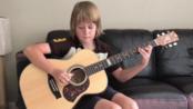 天选之子!被汤神亲手翻牌转发到脸书并且一顿爆夸的超棒10岁小朋友!Ben Gillard - Halfway Home (by Tommy Emmanuel)