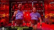 <旗木>DIY NXT双打冠军出场(强尼加加诺 托马索钱帕)