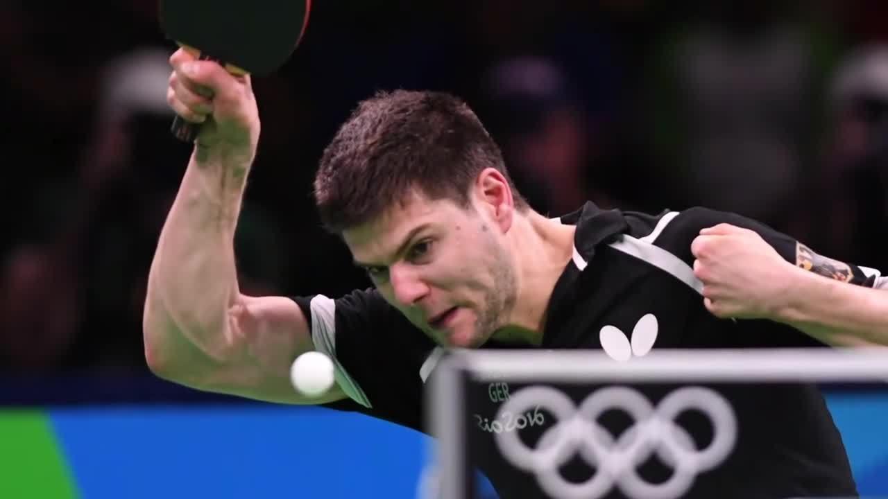 里约奥运乒乓球精彩抓拍