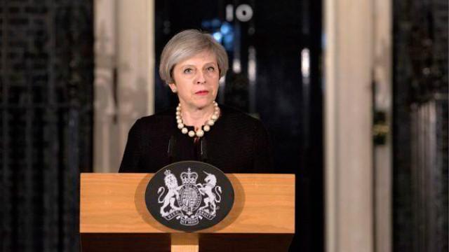 3月22日伦敦发生恐怖袭击,铁娘子特蕾莎·梅讲话回应