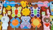 DIY蝴蝶彩泥搭配花朵彩泥,自制无硼砂史莱姆,解压又治愈