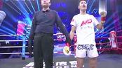 韩子豪KO日本拳王!顶膝对手头部直接晕倒在擂台上!