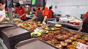 在河南大学吃的快餐,13.8元一斤,花了17