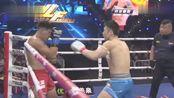 中国队长付高峰不到一分钟ko西班牙拳王,霸气十足
