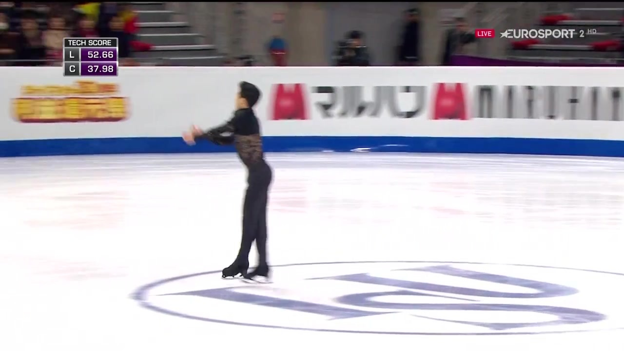2016 GPF SP Nathan CHEN