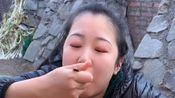 """美食吃播户外做""""麻婆豆腐"""",比麻辣豆腐好吃!"""