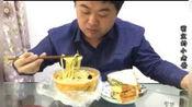 9.9元外卖,粗粮细作,微辣,加自制三明治,有汤有面,美美的一顿
