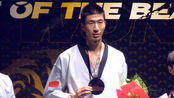 中国跆拳道一哥赵帅17比7战胜李大勋获得跆拳道大奖赛冠军