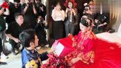 马天宇王传君出席张晓晨婚礼,兄弟们搞怪服装亮相!