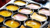 大姐街边卖小吃,10块钱1个日卖200多个,食客:口感软软像烤面包