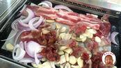吉林省规模最大的清真自助餐,合成肉集合57一位吃得还算过瘾!