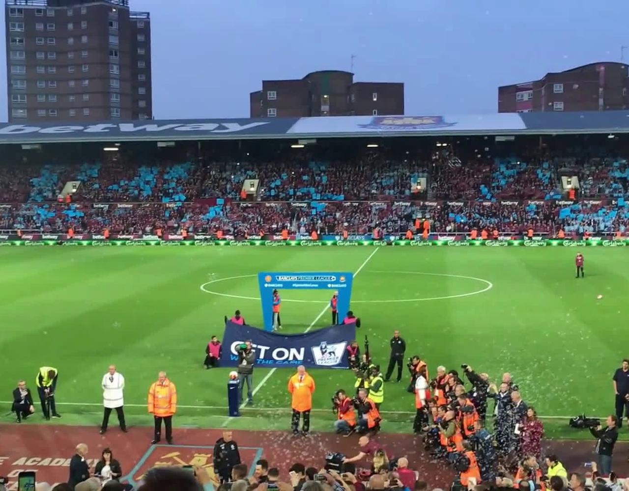 【西汉姆联】在伦敦碗对阵曼联前全场高歌