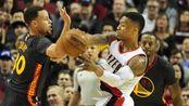 NBA-利拉德生涯新高51分 勇士11连胜遭终结