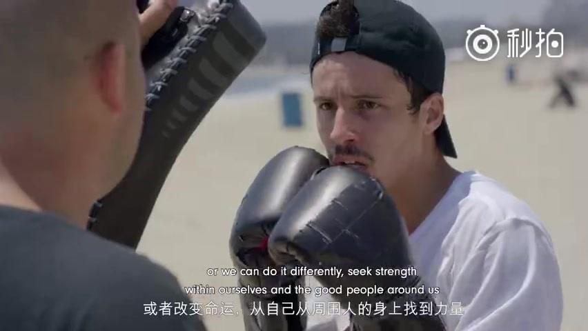 苹果 Beats by Dre 中国大陆(简体中文)宣传片 从巴西贫民窟的滑板少年,到蝉联Tampa Am冠军的天才滑手。(Beats by Dre 官方微博)