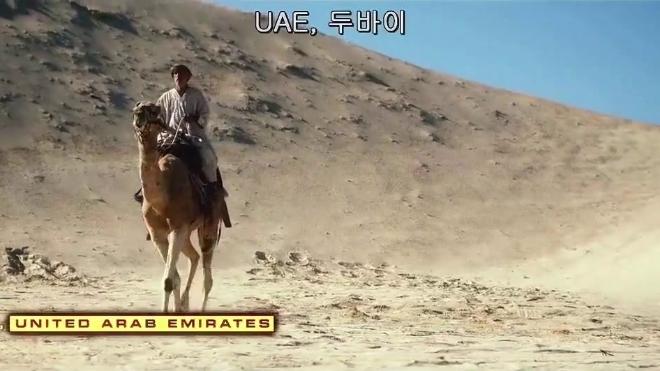 沙漠上突然出现海啸,瞬间把骆驼吞了