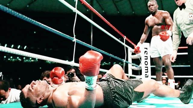 拳击史上冷门赛事盘点!46战全胜的泰森惨遭道格拉斯重拳KO