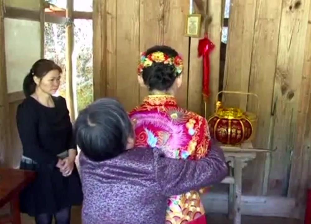 福建农村结婚,阿妹今天最美了!