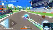 跑跑卡丁车:经典地图1分53秒,主播辰曦吖冠军时刻