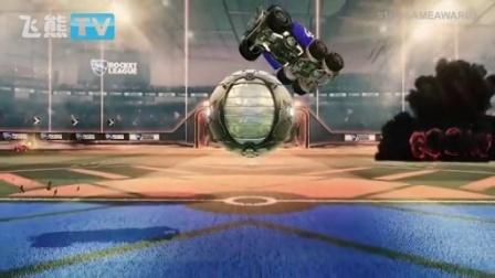 火爆赛车竞速游戏《火箭联盟》Xbox One版201...