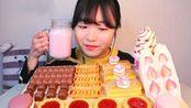 甜食者:草莓甜点拼盘(品名见简介)