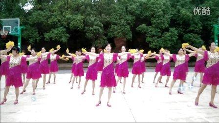 2016最新《神州舞起来》变队形 衡阳丽萍广场舞