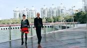 吉特巴水兵舞基本步第四种讲解,王雄老师与邬彩凤老师