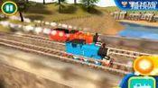 托马斯和朋友玩具视频 托马斯小火车竞速游戏 儿童益智