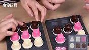 日本食玩双人游戏 益智类巧克力图案排列游戏!