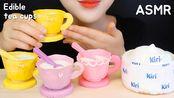【choa】可食用茶杯可食用杯可食用勺巧克力蛋糕(2019年7月26日10时41分)