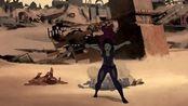 银河护卫队:和想象不一样的星球,卡魔拉受到了攻击