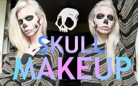 【Jude Karda】Skeleton Makeup 骷髅妆容(早期)