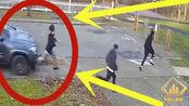 3名小伙发现不对劲,拔腿就跑,3秒后却依然悲剧,网友:谋杀!