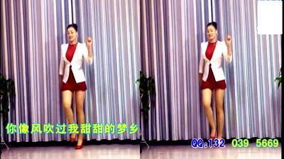 【青青广场舞】吉娜 - 心花开在草原上(DJ中四)错爱QQ推