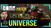 Universe - Clockwerk Offlane | 7.24 Update Patch | Dota 2 Pro MMR Gameplay #8