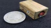 自制迷你充电防风打火机 只有硬币大小发热丝点火器点烟器DIY-创意手工作坊-创意手工作坊