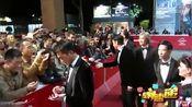 《扫毒》闭幕罗马电影节 张家辉古天乐刘青云遭围堵 20131119