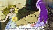 圣斗士星矢剧场版,雅典娜被邪神抓,这样向圣斗士下战书