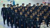军运会开幕式 中国代表团压轴入场 八一男篮主帅王治郅担任旗手