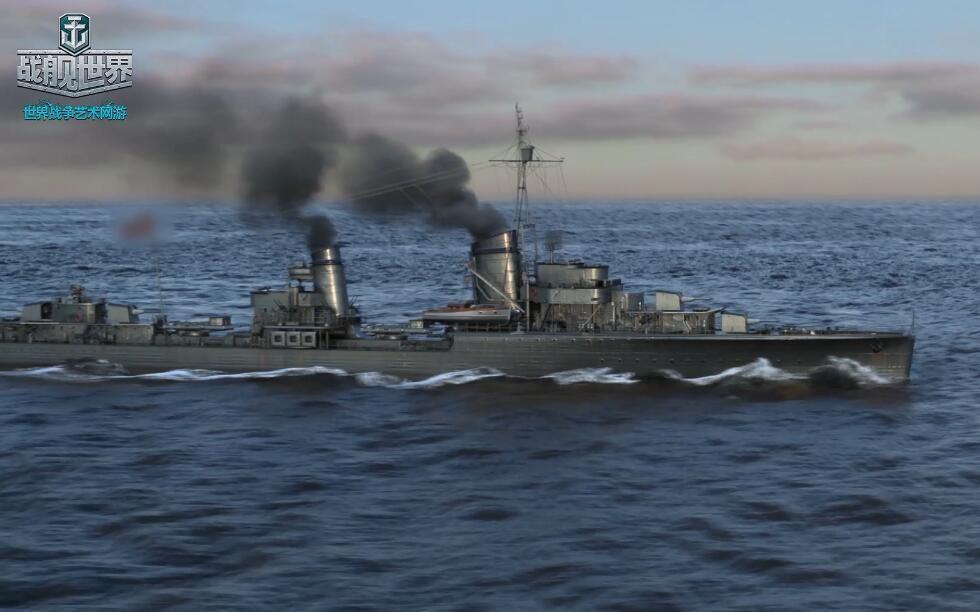 《战舰世界》无敌舰队:莱伯勒希特·马斯