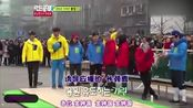 保龄球大战 李光洙穿着黄色衣服为金钟国应援 更像长脖鹿啦