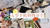 木浠// 超长大型手帐文具购物分享 一次看爽!~爱用物分享