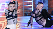 中国好舞蹈极品妖男穿透视踩高跟起舞