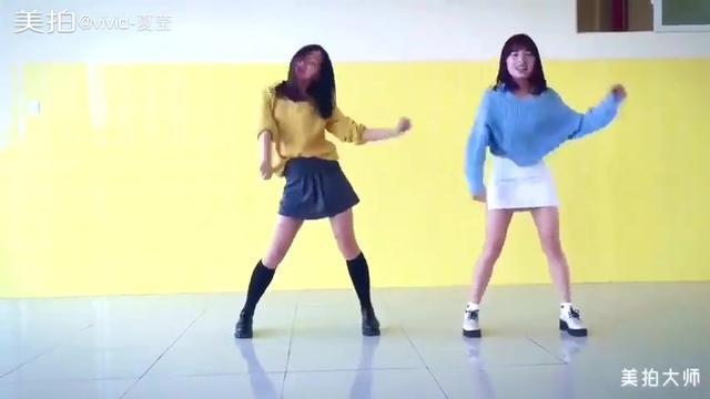 麦穗组合妹子舞蹈翻跳twice-tt