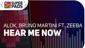 【SUPER PADS LIGHTS】教学向《Alok, Bruno Martini ft. Zeeba - Hear Me Now》Kit LONELY