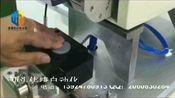 半自动高精度平面贴标机 按扣文件袋贴标机