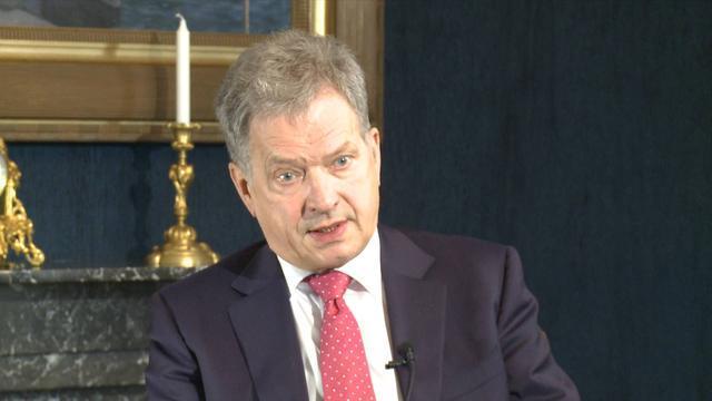 专访:期待习主席来访深化中芬各领域合作——访芬兰总统绍利·尼尼斯托
