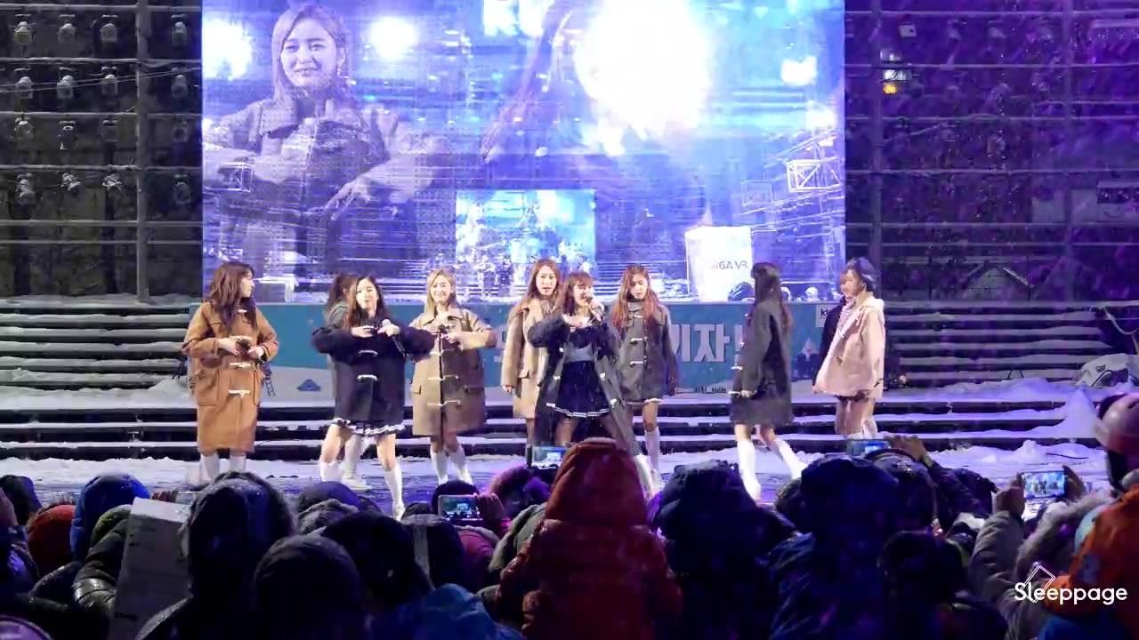宇宙少女 - Secret - Snow with Y 公演饭拍 170129